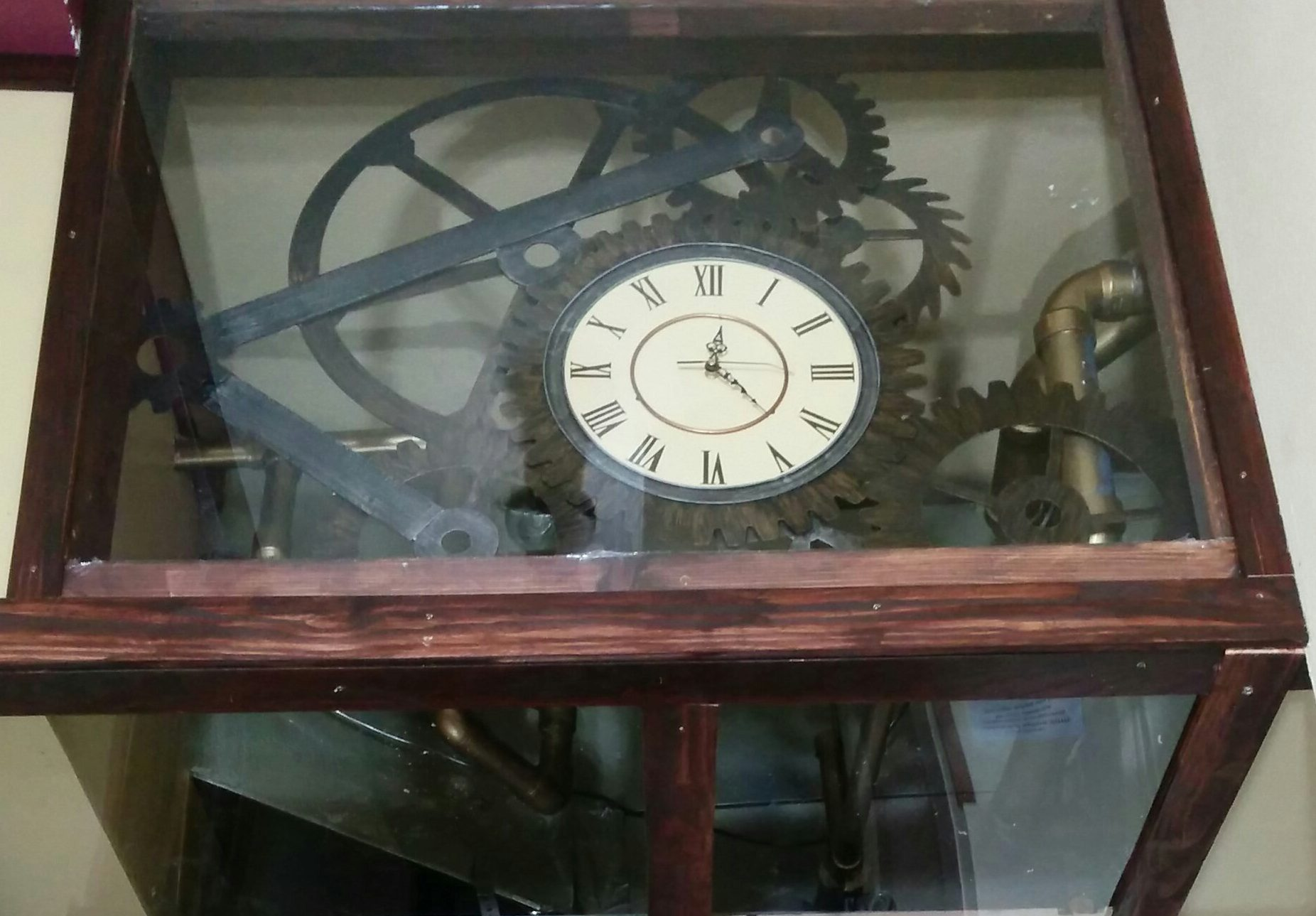 steampunk-clock